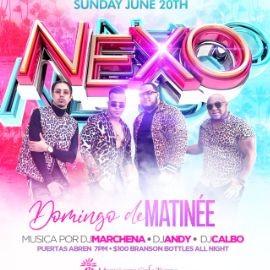 Image for Nexo live at Mamajuana Café Tampa