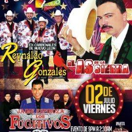 Image for REYNALDO GONZALES EX CARDENALES DE NUEVO LEON, JAIME ESPINOZA LOS FUGITIVOS, EL AS DE LA SIERRA