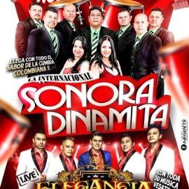Image for Noche de Cumbia con La Internacional Sonora Dinamita y Elegancia VIP en Vivo!
