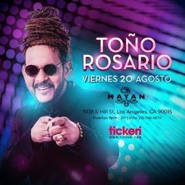 Image for TOÑO ROSARIO EN LOS ANGELES