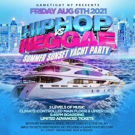 Image for NYC Summer Sunset Hip Hop vs Reggae® Cruise Skyport Marina Jewel Yacht