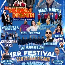 Image for 1er FESTIVAL CENTROAMERICANO, LA INTERNACIONAL SONORA DINAMITA, DANIEL MONCION, LOS HERMANOS LOVO, YAMI GARCIA, NCUTE Y MUCHOS MAS