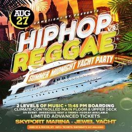 Image for NYC Hip Hop vs Reggae® Midnight Summer Cruise Skyport Marina Jewel
