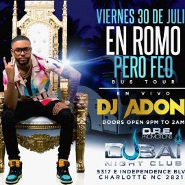 Image for DJ ADONI @ CLUB DUBAI - FRIDAY JULY 30th 2021