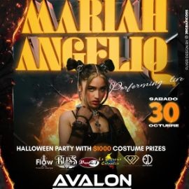 Image for Mariah Angeliq Live In Concert Halloween Party $1,000 In Costume Prize