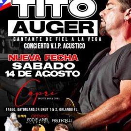 Image for TITO AUGER EN VIVO DESDE PUERTO RICO