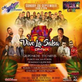 Image for 1st DMV Vive La Salsa 2021 en Grupo Niche, Tito Nieves, Puerto Rican Power, Domingo Quinones y mas!