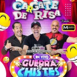 Image for RADAMES / CASASOLA / EL BORREGO, CARGATE DE RISA, GUERRA DE CHISTES EN NORCROSS GEORGIA