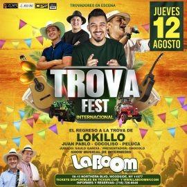 Image for TROVA FEST INTERNACIONAL CON LOKILLO NEW YORK | LA BOOM
