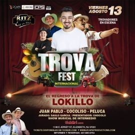Image for TROVA FEST INTERNACIONAL CON LOKILLO EN NEW JERSEY