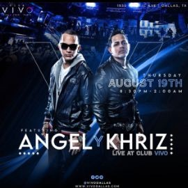 Image for KHRIZ Y ANGEL @CLUB VIVO DALLAS, TX
