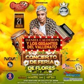 Image for Daniel Calderon y los Gigantes del Vallenato Concierto Feria de las Flores