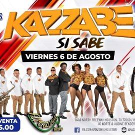 Image for Kazzabe En Vivo - Houston, Tx (Amazonia Nightclub)