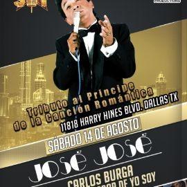 Image for Tributo al Principe de la Cancion Romantica Jose Jose con Carlos Burga  y Los Pasteles Verdes en Vivo!