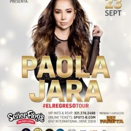 """Image for PAOLA JARA  EN ORLANDO """"EL REGRESO TOUR"""""""
