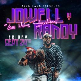Image for Jowell & Randy in Concert at CLUB HALO