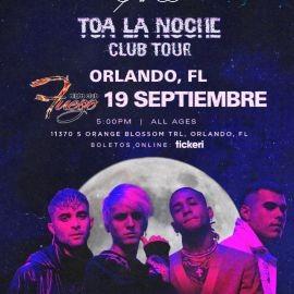 Image for CNCO TOA LA NOCHE CLUB TOUR ! ORLANDO FLORIDA