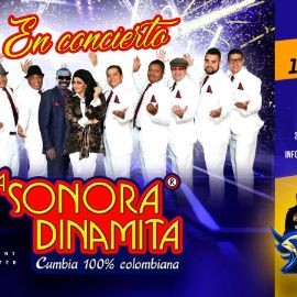 Image for LA SONORA DINAMITA CUMBIA 100% COLOMBIANA EN CONCIERTO ! LAGUNA HILLS CALIFORNIA