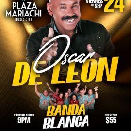 Image for Oscar De Leon y Banda Blanca en Vivo!