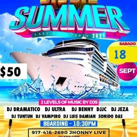 Image for BYE BYE  SUMMER BOAT PARTY 2021