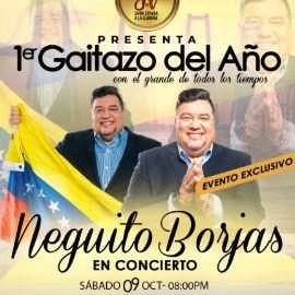Image for NEGUITO BORJAS EN CONCIERTO ! MIAMI FLORIDA