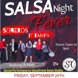 Image for Salsa Night Fever @ Paracas Bar & NightClub con los SONEROS D' TAMPA