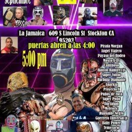 Image for LUCHA LIBRE MEXICANA, PIRATA MORGAN, ANGEL VIAJERO, PAYASO DEL RODEO,  LUMINOSO, SUPER VOLTIO Y OTROS EN VIVO ! STOCKTON CALIFORNIA