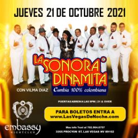 Image for LA SONORA DINAMITA en EMBASSY Las Vegas!