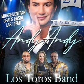 Image for ANDY ANDY Y LOS TOROS BAND - GRAN REVENTON BAILABLE EN MARYLAND