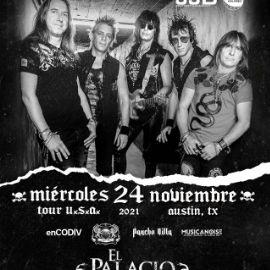 Image for RATA BLANCA TOUR USA 2021 EN CONCIERTO !  AUSTIN TEXAS
