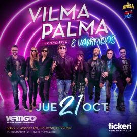 Image for VILMA PALMA E VAMPIROS EN HOUSTON