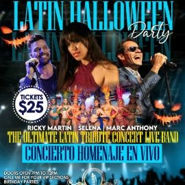 Image for Latin Explosion Tribute with Performances by Selena, Marc Anthony & Ricky Martin