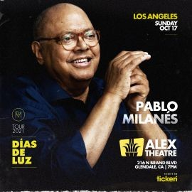 Image for PABLO MILANES EN VIVO, DIAS DE LUZ TOUR 2021 ! LOS ANGELES