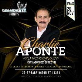 Image for CHARLIE APONTE CANTANDO TODOS SUS EXITOS EN VIVO ! FLUSHING NEW YORK