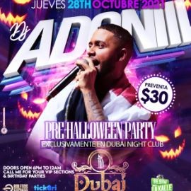 Image for DJ ADONI PRE HALLOWEEN PARTY ! CAMDEN NEW JERSEY