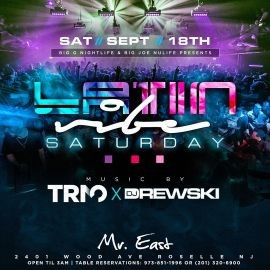 Image for Latin Vibe Saturdays At Mister East
