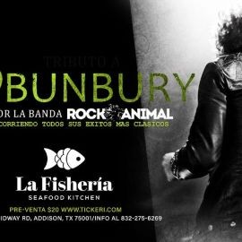 "Image for ""TRIBUTO A BUNBURY"" - DALLAS TEXAS"