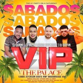 Image for SABADOS VIP AT THE PALACE- VIRGINIA
