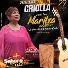 """Image for MARITZA RODRIGUEZ """" LA PRINCESITA DE LA CANCION CRIOLLA """" EN VIVO ! MANASSAS VIRGINIA"""