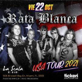 Image for RATA BLANCA EN MIAMI