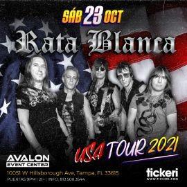 Image for RATA BLANCA EN TAMPA