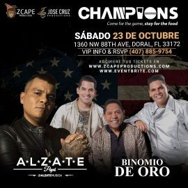 "Image for ALZATE EN MIAMI ""MI VENGANZA TOUR"" CON EL BINOMIO DE ORO"