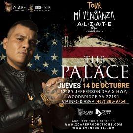 "Image for ALZATE EN VIRGINIA ""MI VENGANZA TOUR"""