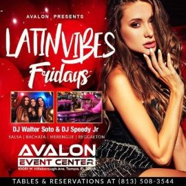 Image for Latin Vibes Fridays at Avalon Event Center