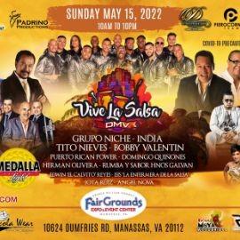 Image for Vive La Salsa DMV 2021 en Grupo Niche, India,Tito Nieves, Bobby Valentin, Puerto Rican Power, Domingo Quinones NUEVA FECHA MAYO 15,2022 En Prince William County Fairgrounds