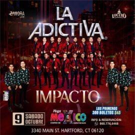 Image for LA ADICTIVA, BANDA IMPACTO EN VIVO ! HARTFORD CONNECTICUT