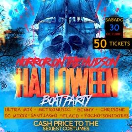 Image for HORROR. ON THE HUDSON. HALLOWEEN BOAT PARTY.