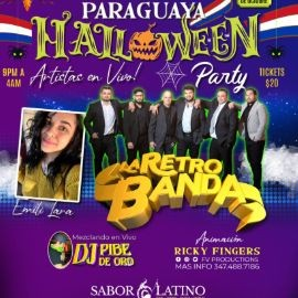 Image for Noche Paraguaya HALLOWEEN Party