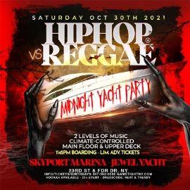Image for NY Hip Hop vs Reggae® Halloween Saturday Midnight Skyport Marina Jewel Yacht