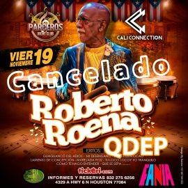 Image for ROBERTO ROENA  EN CONCIERTO  @HOUSTON TX -CANCELADO